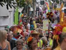 Totnes Pride Procession