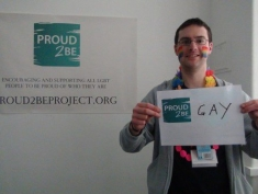 "Robert is ""Proud2Be gay"""