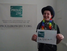 """Proud2Be lesbian"""