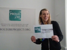"""Proud2Be transgender"""