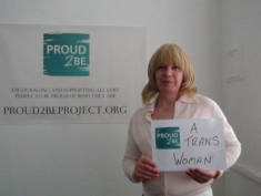 "Shirley is ""Proud2Be a trans woman"""