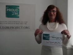 "Rebecca is ""Proud2Be transgender woman"""