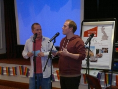 Jon & Mat speaking at Conference | Feb 2013