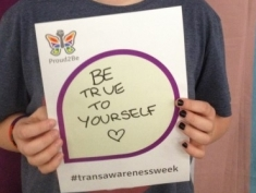 Trans Awareness Week Campaign